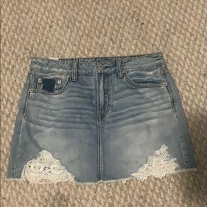 American eagle outfitters light was skirt